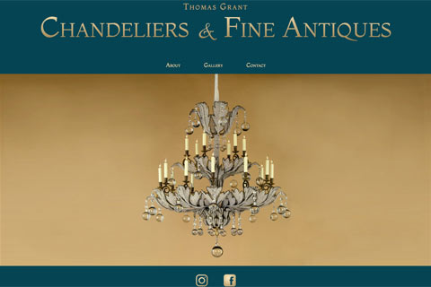 Thomas Grant Chandeliers Website