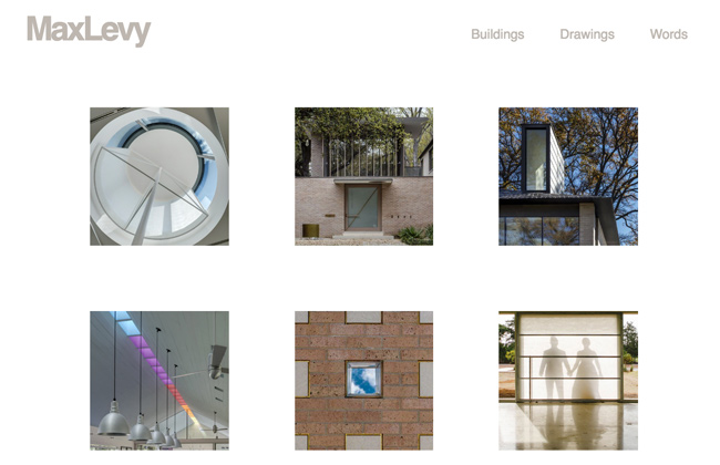 Max Levy Architecture Website