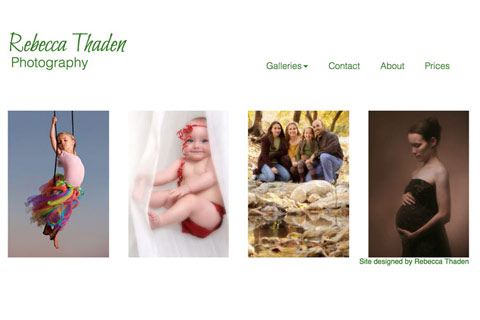 Thaden Photography Website